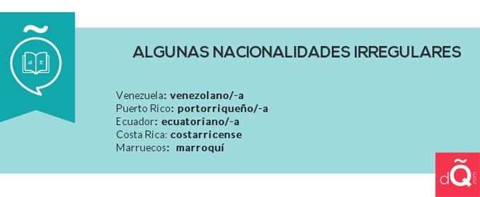 ¡Cuidado con los gentilicios en #español! #dQcom