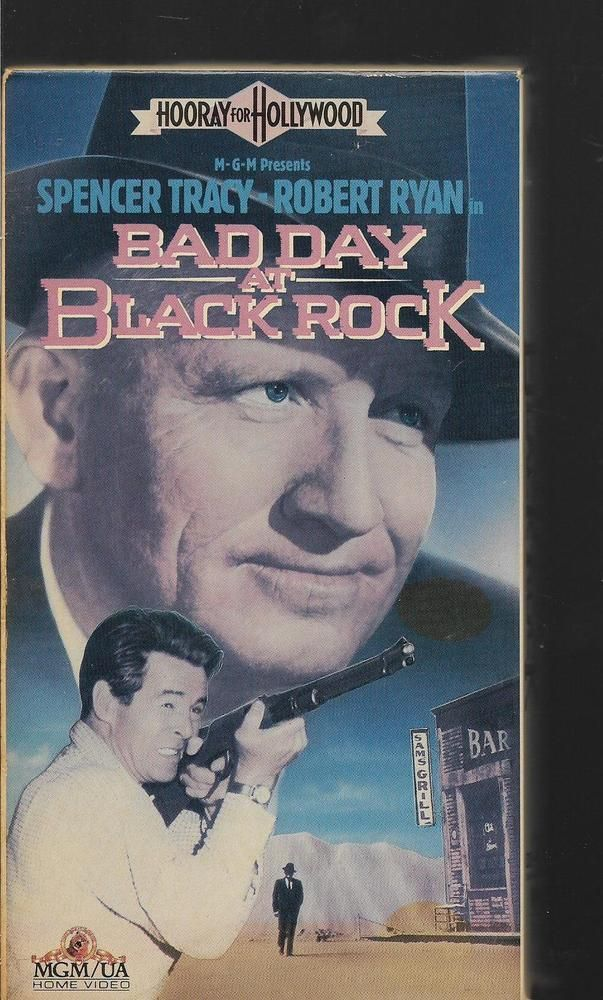 Bad Day At Black Rock Spencer Tracy Robert Ryan Lee Marvin VHS