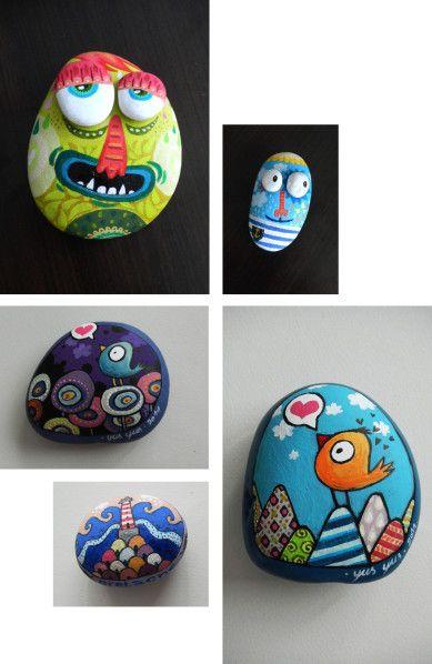 créations artistiques et artisanales à l'univers très coloré