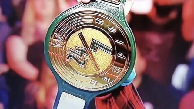 WWE 24/7 Championship muda de mãos novamente