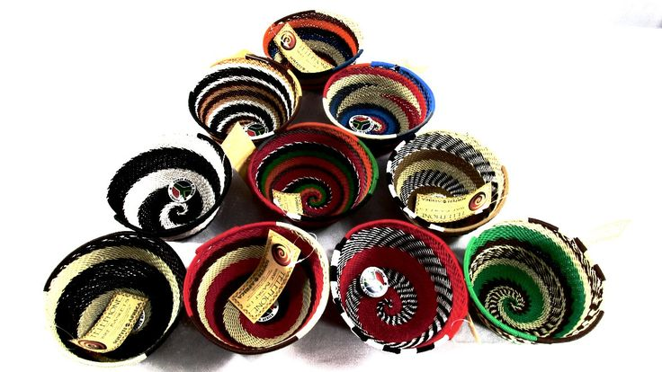 Telephone Wire Bowls - Size 2