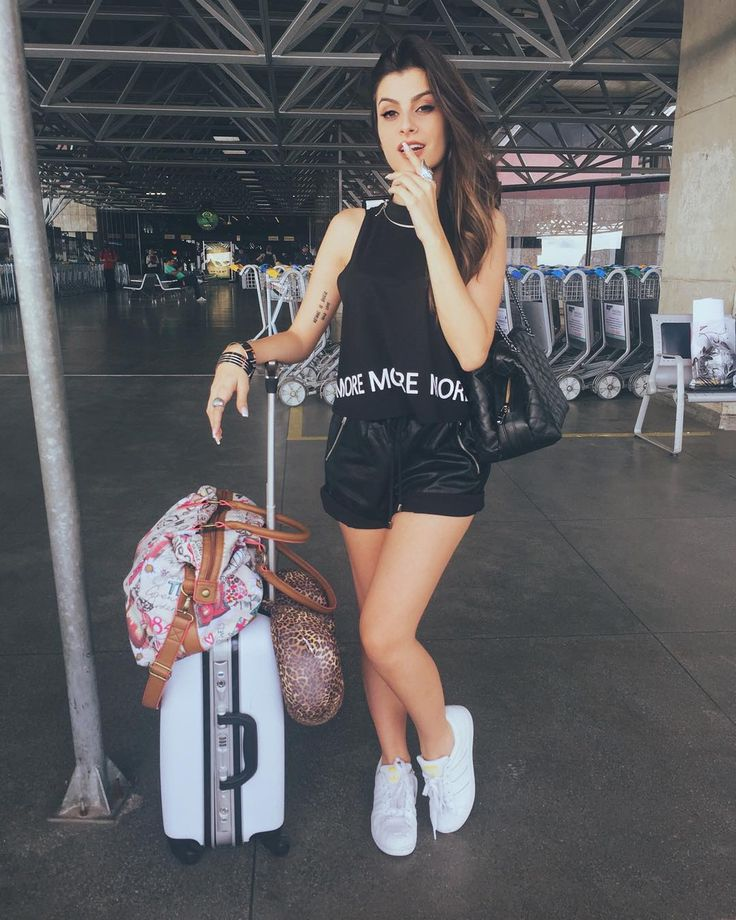 """Airport style, baby! ✈️ | SP, aí vou eu. #ootd"""