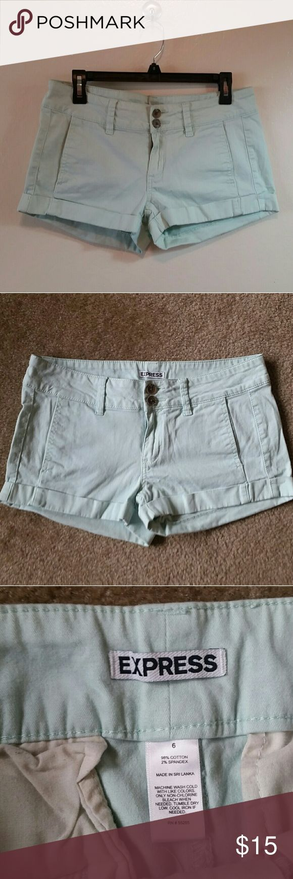 EXPRESS Mint Shorts Like new condition! Express Shorts