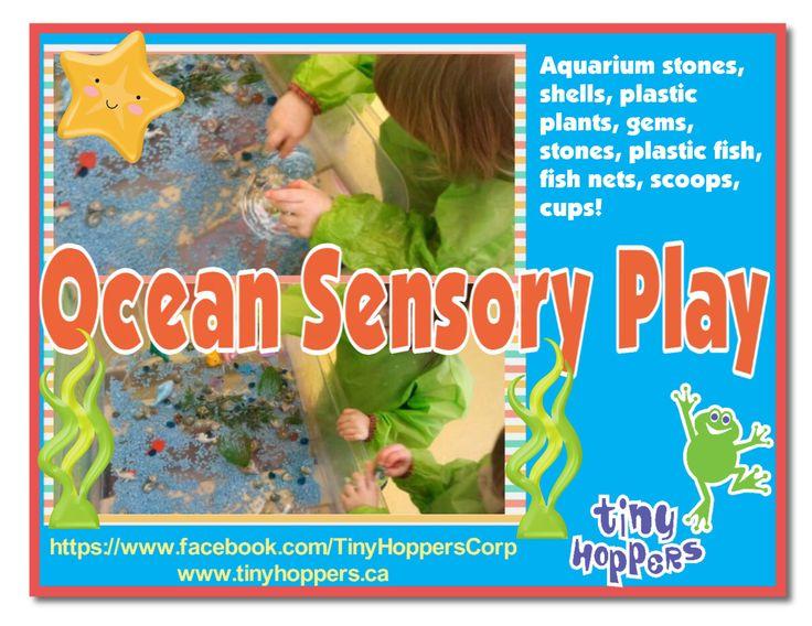 Ocean Sensory Play - Tiny Hoppers