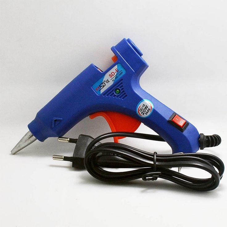Professional High Temp Heater 20W Hot Glue Gun Repair Heat tool with Free 1pcs Hot Melt Glue Sticks