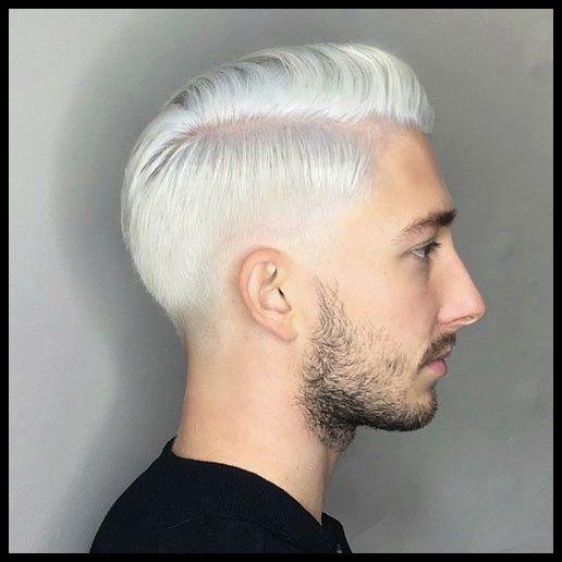 Trendy Männer Frisuren Weiße Haare en 2020 | Cheveux