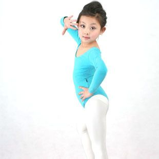 Gratis verzending! Meisje uit een stuk ballet o hals lange mouwen leotard dance praktijk kleding jq 141 in maattabel:1. s--- voor de hoogte van 100cm tot 105cm;2. m--- voor de hoogte van 105cm tot 115cm;3. l--- voor de ho van Ballet op AliExpress.com | Alibaba Groep