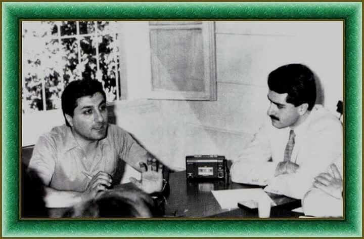 Bashir Gemayel & Gebran Tueni
