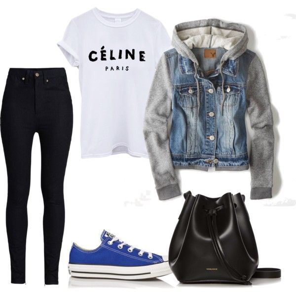 cd by paluna on Polyvore featuring moda, American Eagle Outfitters, Rodarte, Converse and Rachael Ruddick