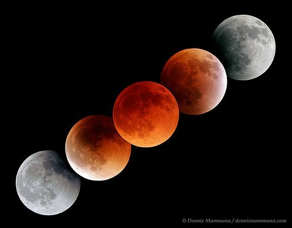 Lunar Eclipse 2011 December. The upcoming Lunar Eclipse this April. 14-15, 2014 will look similar to this with the beautiful reddish hues.