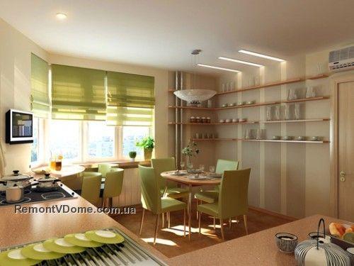 коричневые кухни фотогалерея 59
