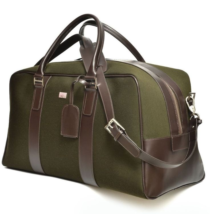 CARLA ROSSINI - GREEN SPORT PERFORMANCE FABRIC - HOLDALL/TRAVEL BAG #CarlaRossini