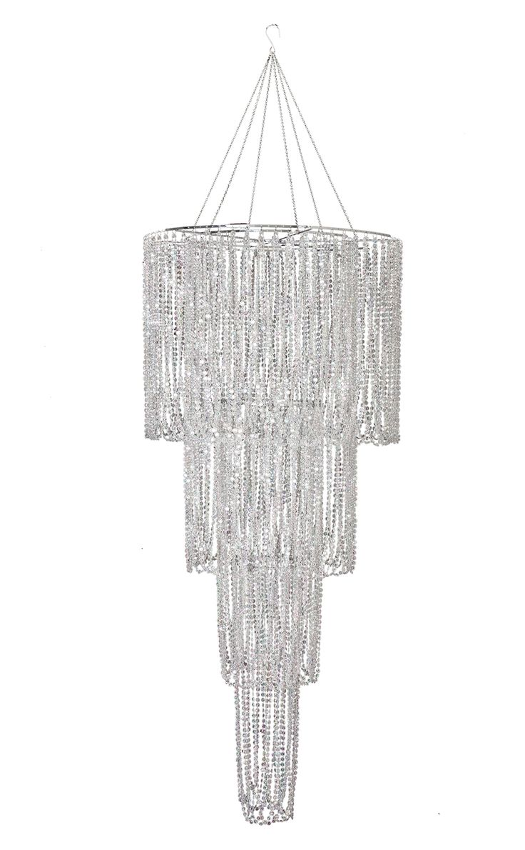 21 best wedding chandeliers images on pinterest crystal large 4 tiered swag chandelier mozeypictures Choice Image