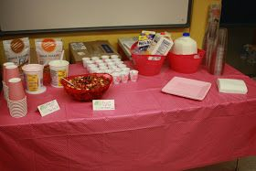 """Last year for teacher appreciation we had 3 days of """"food carry in's"""" for the teachers. We asked the parents at the school to bring in brea..."""