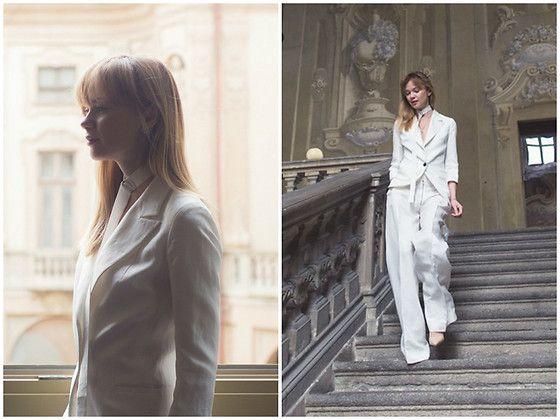 Get this look: http://lb.nu/look/8564833  More looks by Anastasiia Masiutkina: http://lb.nu/anastasiiamas  Items in this look:  Elena Burenina Total Look   #classic #elegant #romantic #eatdresstravel #anastasiiamasiutkina #streetstyle #fashionblogger #fashionista #natashaischenko