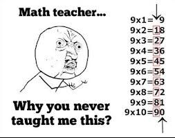 Why?! Plus both numbers in the answer added equal 9....