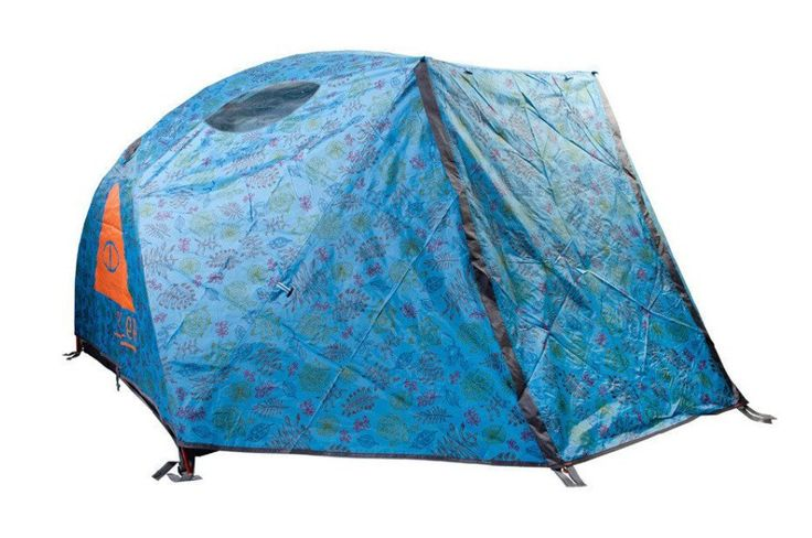 Many 2 person tents are made just barely big enough for two to squeeze in. Our tent is a 2+ size, meaning it can hold two people very comfortably, or 3 in a pin