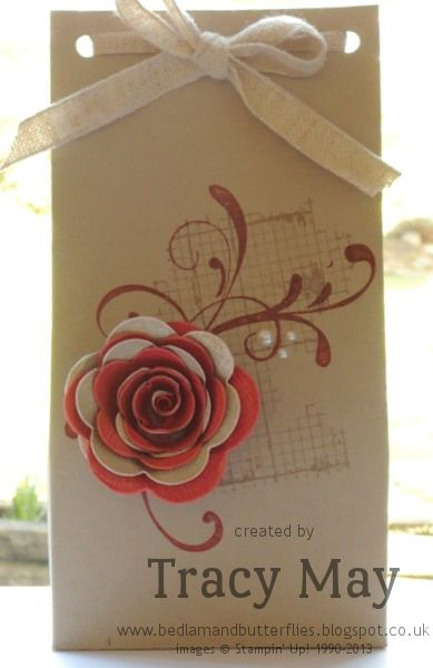 Stampin' Up! UK - Off the Grid with a Spiral Rose Everything Eleanor, Off the Grid, Spiral Flower Originals Die