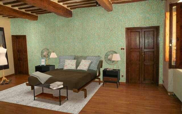 Camera da letto padronale per un appartamento a Castello #remaxcentral #homestagingdigitale