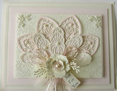 Hi bloggers! Today's video card uses the Ornamental Accents die set to create a stunning double fan card. There are so many ways yo...