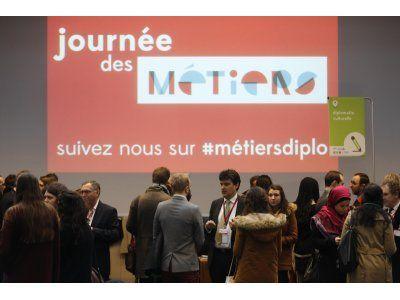 Le samedi 6 février 2016, se tenait à Paris la sixième édition de la Journée des métiers du ministère des Affaires étrangères et du Développement international.