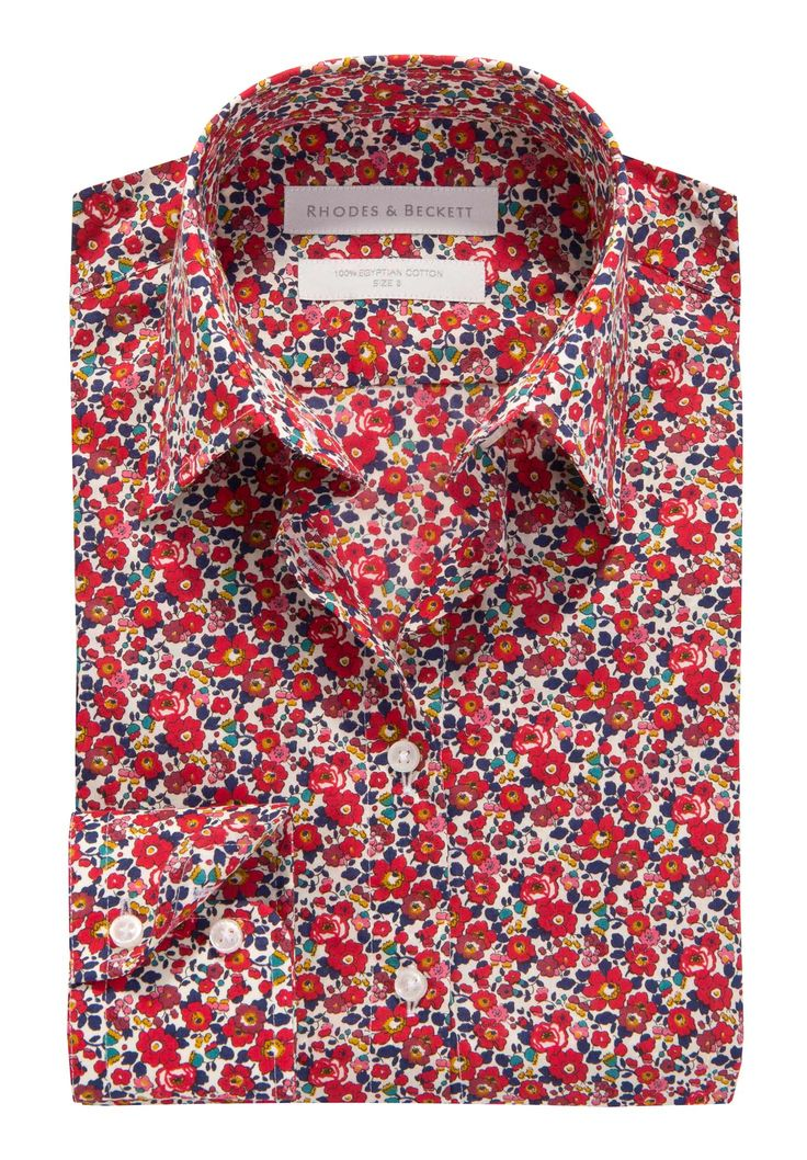 My Liberty of London obsession continues with this shirt in Betsy Ann floral print from Rhodes & Beckett A/W13