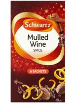 Mulled Wine: I used 1 litre orange juice, 1 litre apple juice, 1 litre cranberry juice, 1 litre water, sugar ( the original recipe I used called for 400g sugar, but it was too sweet, so sugar according to taste!), 4 sachets Schwartz mulled wine. Add cut pieces orange and apple, bring to boil and simmer for 20-30 mins.