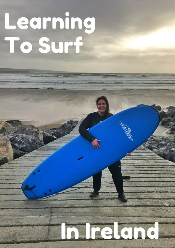 Learning to Surf in Ireland: