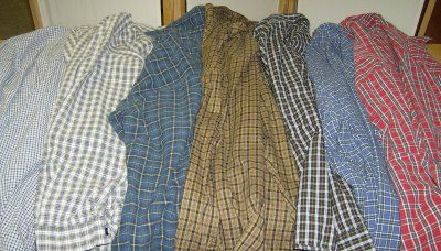 seven shirts+7 steps=one thrifty quilt-this is a really clear tutorial...love it !!!