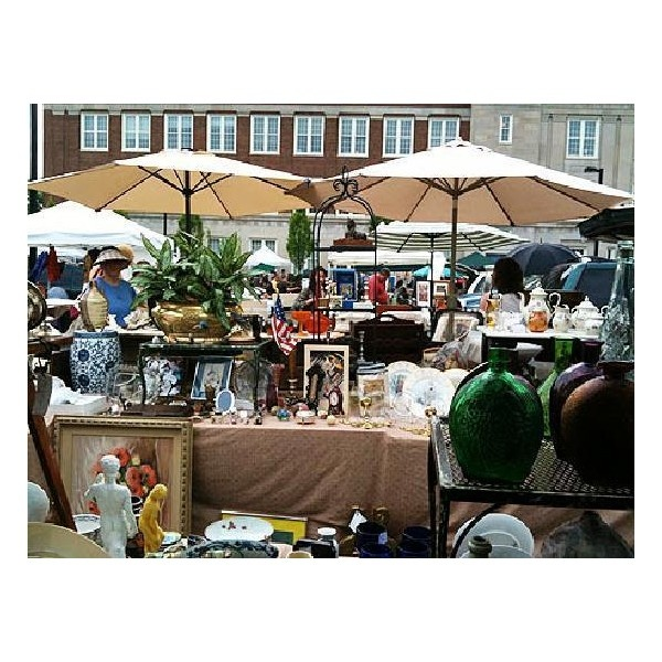 The BEST Flea Market in the Washington DC area!!! ANTIQUES &... ❤ liked on Polyvore