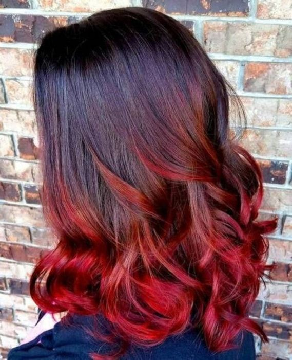 How To Style Black Hair With Red Tips 6 Amazing Ideas Wetellyouhow Red Hair Tips Black Red Hair Red Ombre Hair