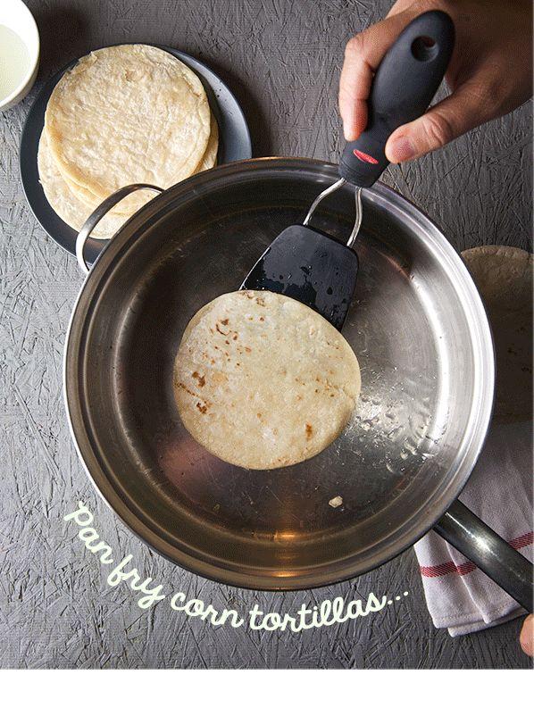 Enfrijoladas - Yes, more please! Cooking Blog