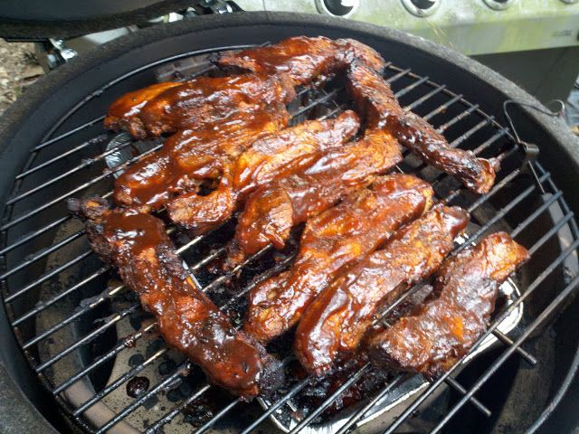 My Big Green Egg: Country Style Pork Ribs on the Big Green Egg
