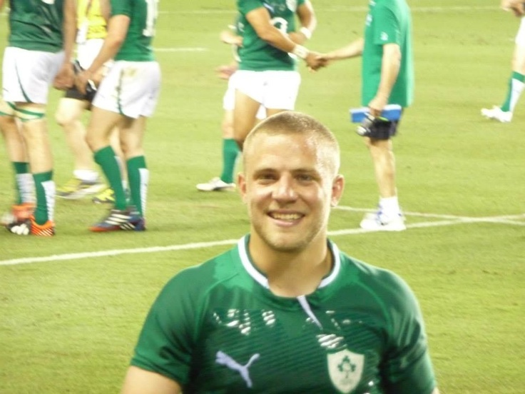 Ian Madigan! Irish and Leinster rugby player, pretty beautiful I think...