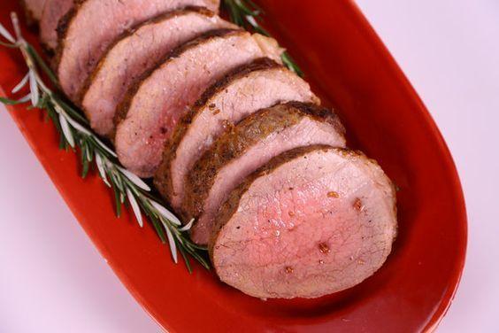 the chew | Recipe  | Michael Symon's Eye Of Round Roast