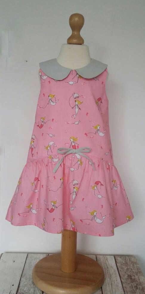Check out this item in my Etsy shop https://www.etsy.com/uk/listing/504631767/mermaid-dress-peter-pan-collar-mermaid