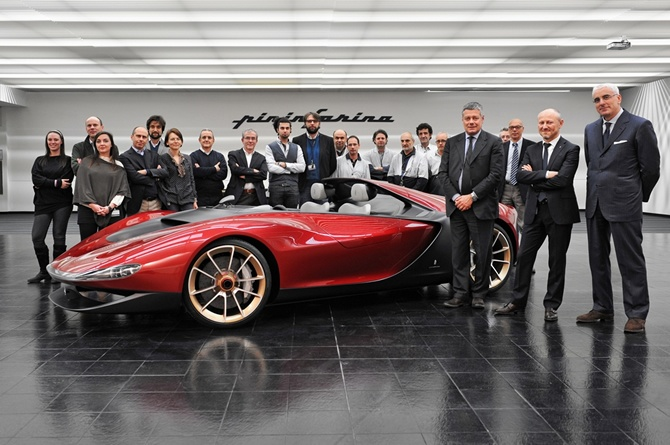 Pininfarina Sergio Concept: Art and sportsmanship come together to pay tribute