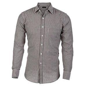 Camisa hombre manga larga,camisas hombre marron,camisa de hombre