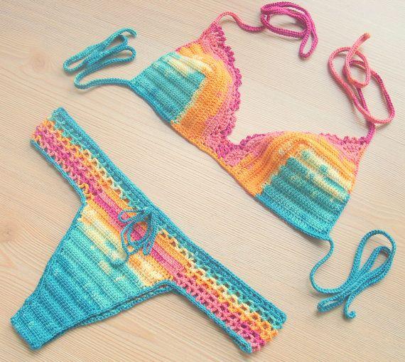 Rainbow Sexy Bikini, Women Swimwear, Beach Wear, 2015 Summer Trends !!! FORMALHOUSE