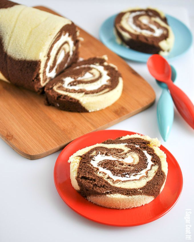 ... CAKE ROLLS on Pinterest | Roll recipe, Yule log and Chocolate roll