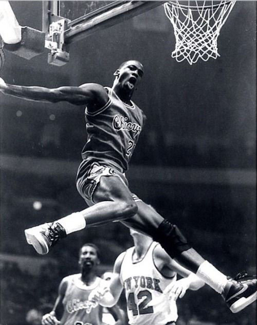 The Greatest. Michael Jordan