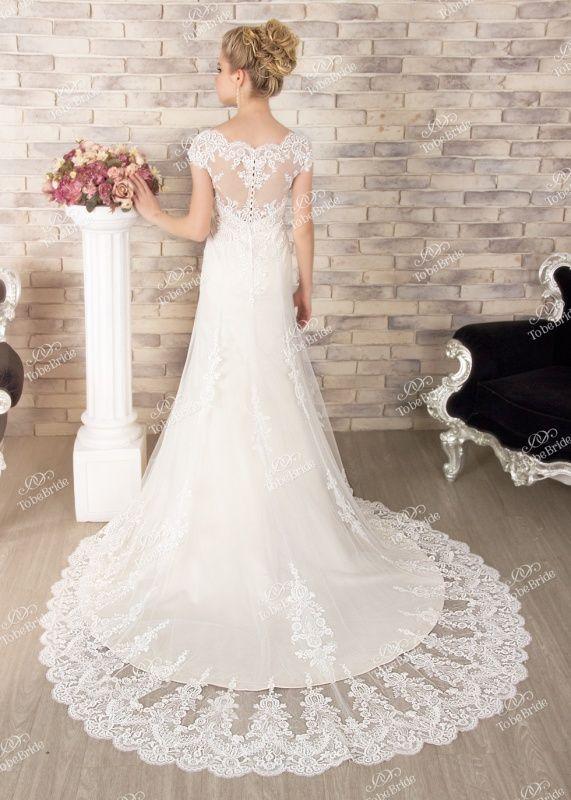 SL0177Свадебное платье с рукавом, свадебное платье с открытой спиной
