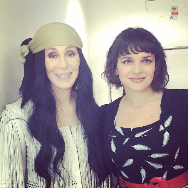 Cher and Norah Jones