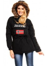 Chaqueta Geographical Norway Bulding black