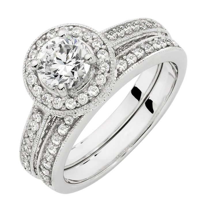 Cubic Zirconia 2 Piece Ring- Michael Hill Jewellers