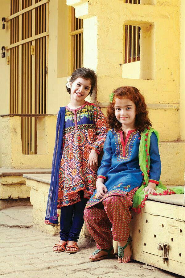 Pakistani designed Dresses For Children