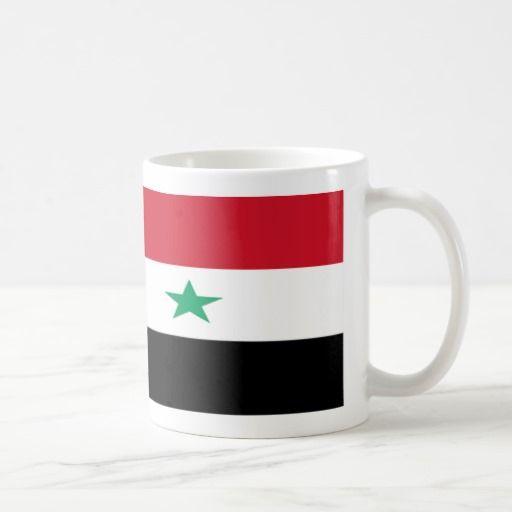 Syria Flag Coffee Mug