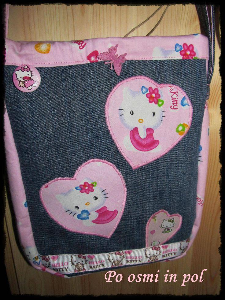 jeans bag for little girl