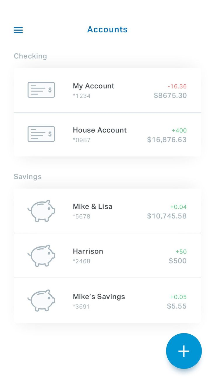 Account info – MaterialUp