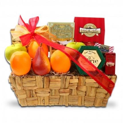25 best baskets ideas images on pinterest hamper gift gift holiday fruits favorites gift basket negle Images
